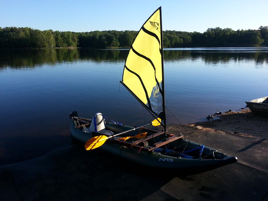 Questions about Kayak Sailing