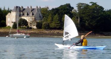 Falcon Sails Kayak Sail Pictures